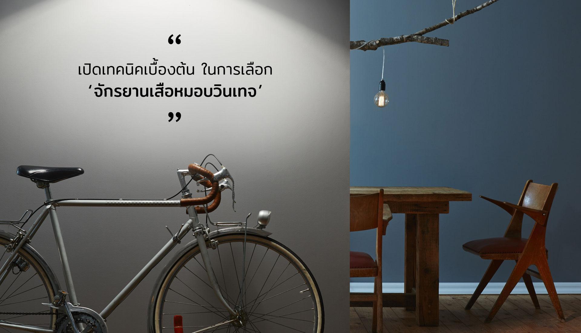 จักรยานเสือหมอบวินเทจ